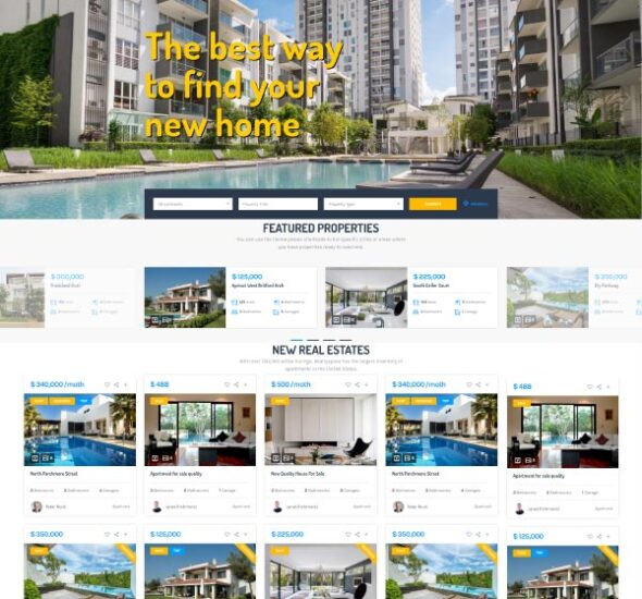 Real Estate Listing Manager